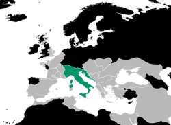 Italian Kingdom Location (1229)