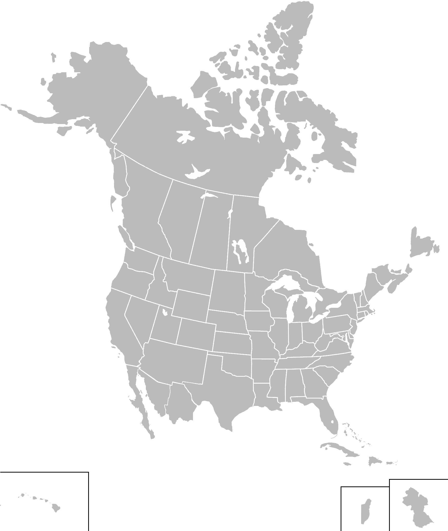 Image Map Of The United States King Of Americapng - Alternate us map
