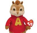Alvin and the Chipmunks (TY Beanies)