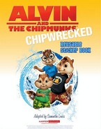 Chipwrecked Reuseable Sticker Book Illistration