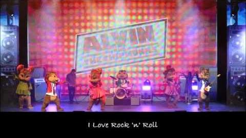I Love Rock 'n' Roll - The Chipmunks & The Chipettes