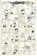 Clyde Crashcup Dell Comic 3 - Umbrella Fishnet