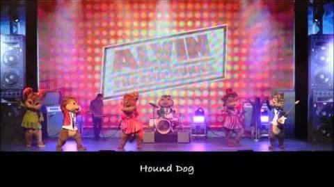 Hound Dog - The Chipmunks