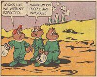 Alvin In Orbit Scene Illustration