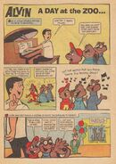 Alvin Dell Comic 3 - A Day At The Zoo