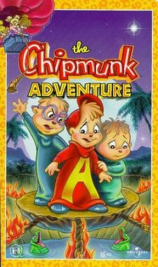 The Chipmunk Adventure VHS Cover