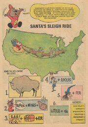 Santa's Sleigh Ride Activity Page