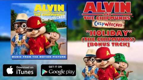 Chipmunks feat Chipettes-Holiday (with lyrics)