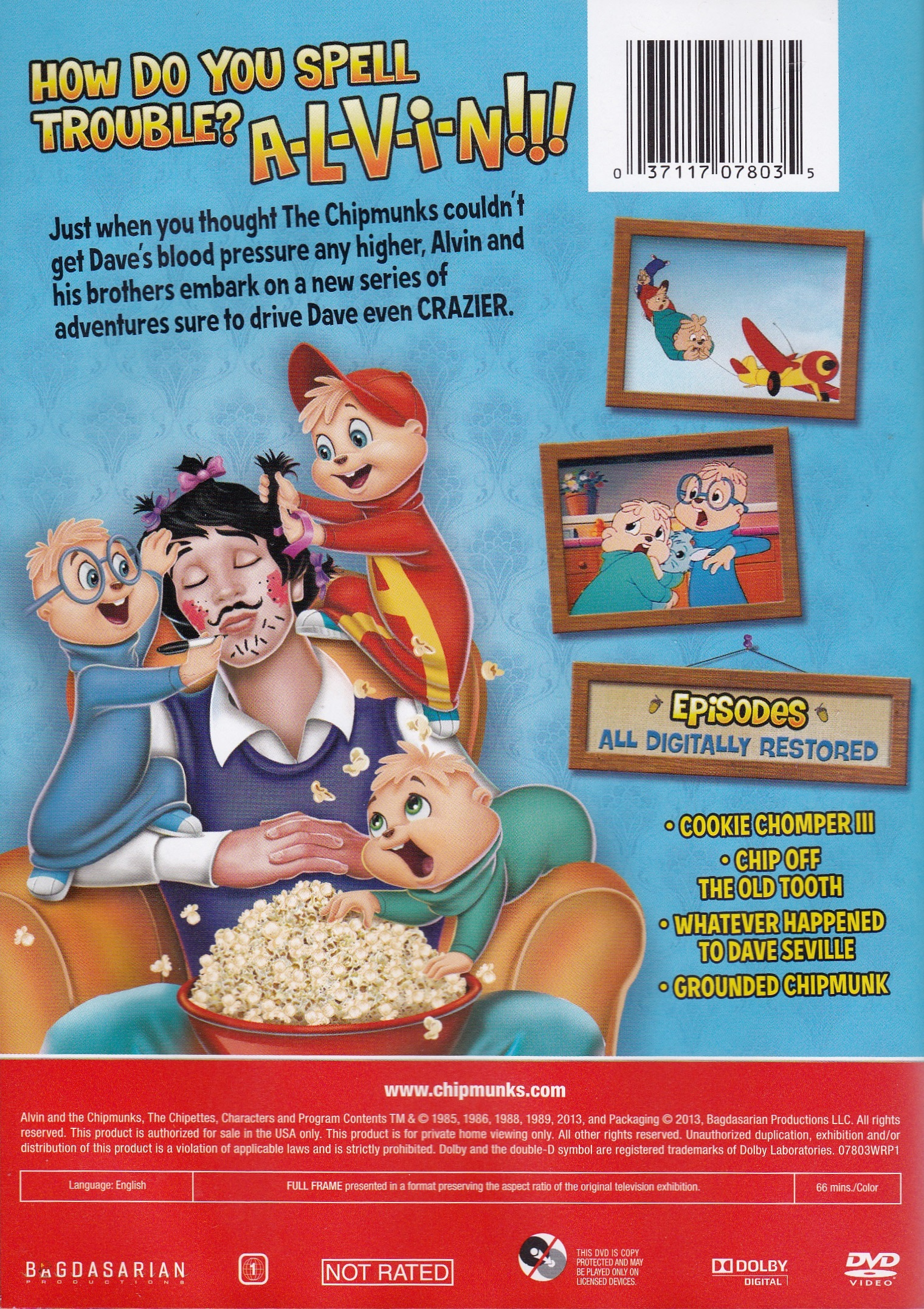 Driving Dave Crazier DVD  Alvin and the Chipmunks Wiki