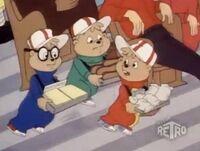 The Chipmunks as Vendors
