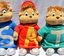Alvin and the Chipmunks (Dayton Hudson Plush Dolls)