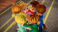 The Chipmunks and Chipettes huddled together.png