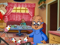 Simon and Theodore egg painting