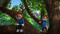 Simon and His Doll in Tree.png