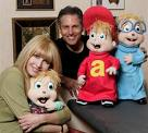 Janice and Ross with Puppets 2004