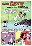 Clyde Crashcup Dell Comic 1 - Invents the Broom