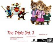 Alvin 3 poster