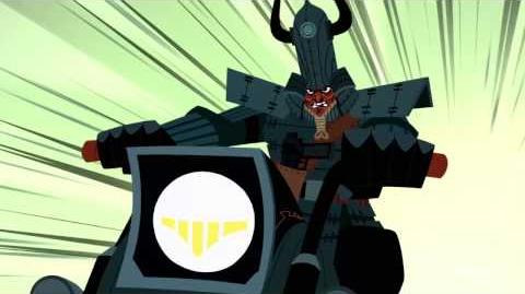 Samurai Jack Sneak – One vs. Many Samurai Jack Adult Swim
