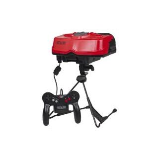 The Virtual Boy's appearance.
