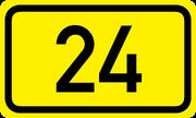 Bundesstrac39fe 24 de number