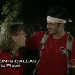 Toni &amp; Dallas finish 3rd on <a href=