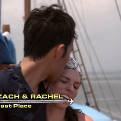 Zach &amp; Rachel were eliminated in <a href=