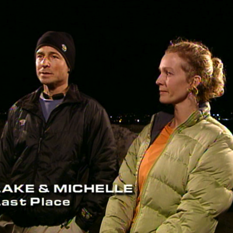 Lake & Michelle were eliminated from the race in 6th place.