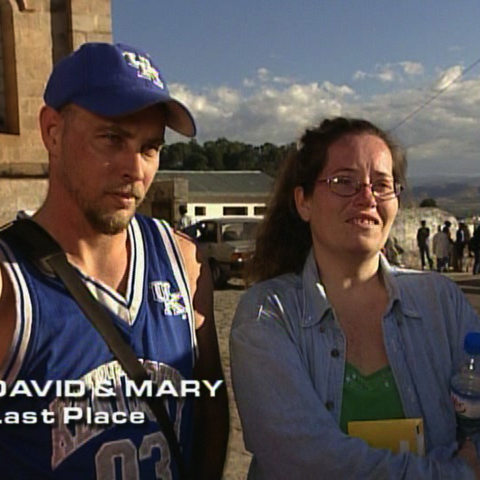 David & Mary were eliminated from the race in 6th Place after a penalty.