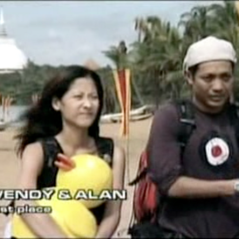 Wendy & Alan were eliminated from the race in 9th Place.