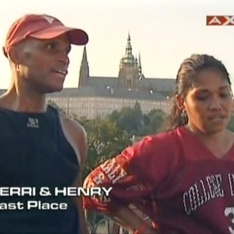 Terri & Henry were eliminated from the race in 6th place