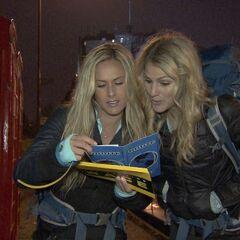 Caroline &amp; Jennifer start the <a href=