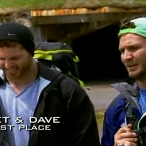 Jet & Dave were eliminated from the race in 4th place.