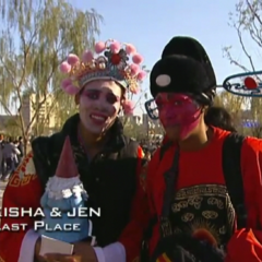 Kisha & Jen were eliminated from the race in 4th place after Jen took an untimely bathroom break.