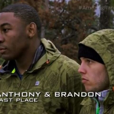 Anthony & Brandon have been eliminated from the race.