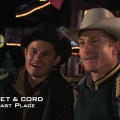 Jet & Cord were eliminated from the race in 6th place.