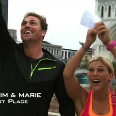 Tim &amp; Marie win the <a href=