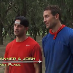 Tanner & Josh  were eliminated from the race at 6th place.