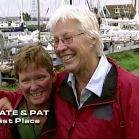 Kate & Pat were eliminated from the race in 10th Place.