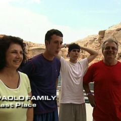 The Paolos were eliminated from the race in 5th place.