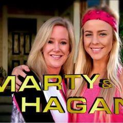 Marty & Hagan's opening credit