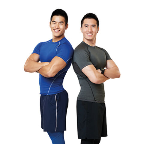 An alternate promotional photo of Alex &amp; Will for <i>The Amazing Race Asia</i>.