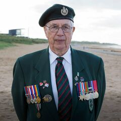 Leg 7: Juno Beach, Normandy, France (Jim Parks, World War II veteran)
