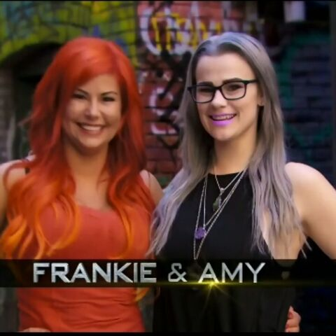 Frankie & Amy's opening credit