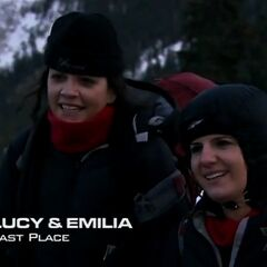 Lucy & Emilia were eliminated from the race in 5th place.