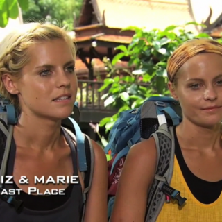 Liz & Marie were eliminated from the race in 8th Place.