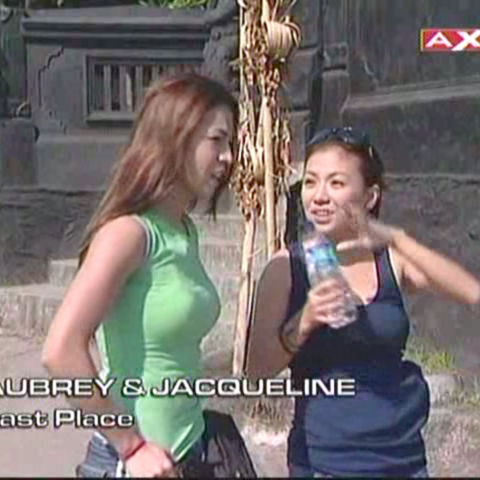 Aubrey & Jacqueline were eliminated from the race in 9th place after taking a penalty.