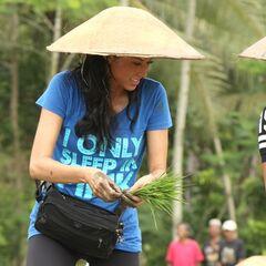 Kaylani &amp; Lisa doing the <i>Rice Field</i> <a href=