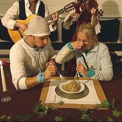Jordan &amp; Jeff doing the <i>Sauerkraut</i> Detour in <a href=