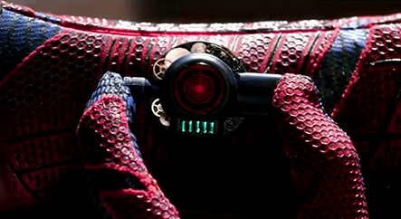 The amazing spiderman web shooters