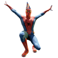 Party hat suit